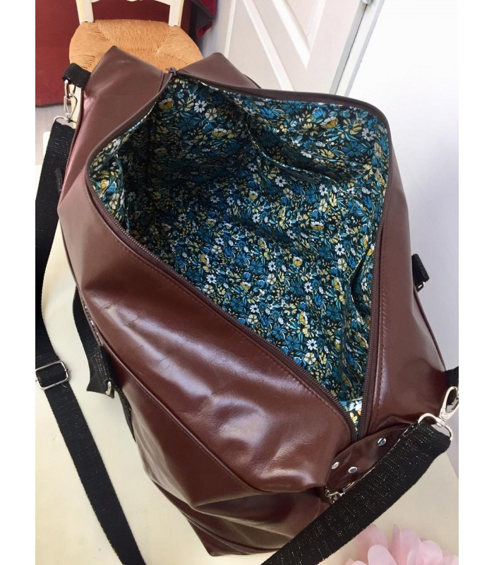 Solde à payer pour 1 sac Java en cuir véritable